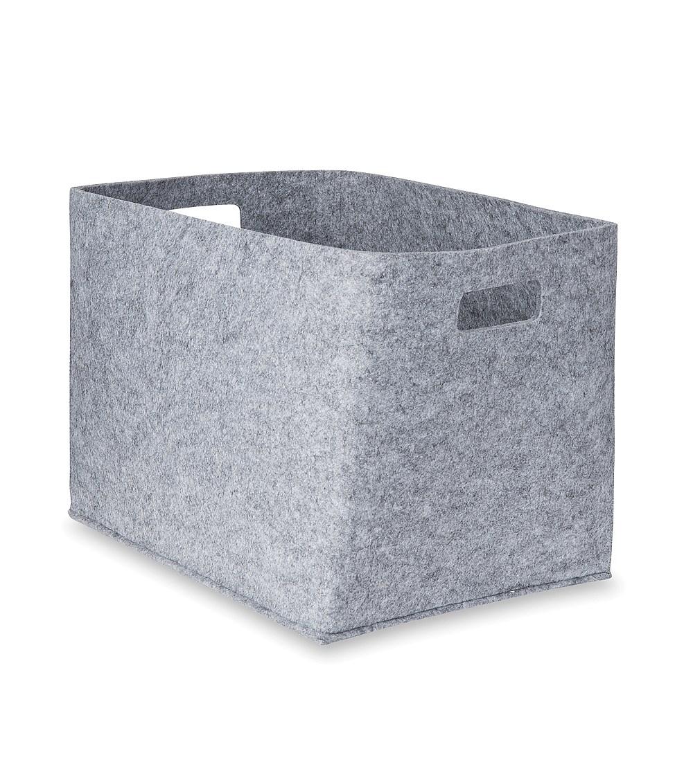 Home Decor Citta Felt Storage Basket