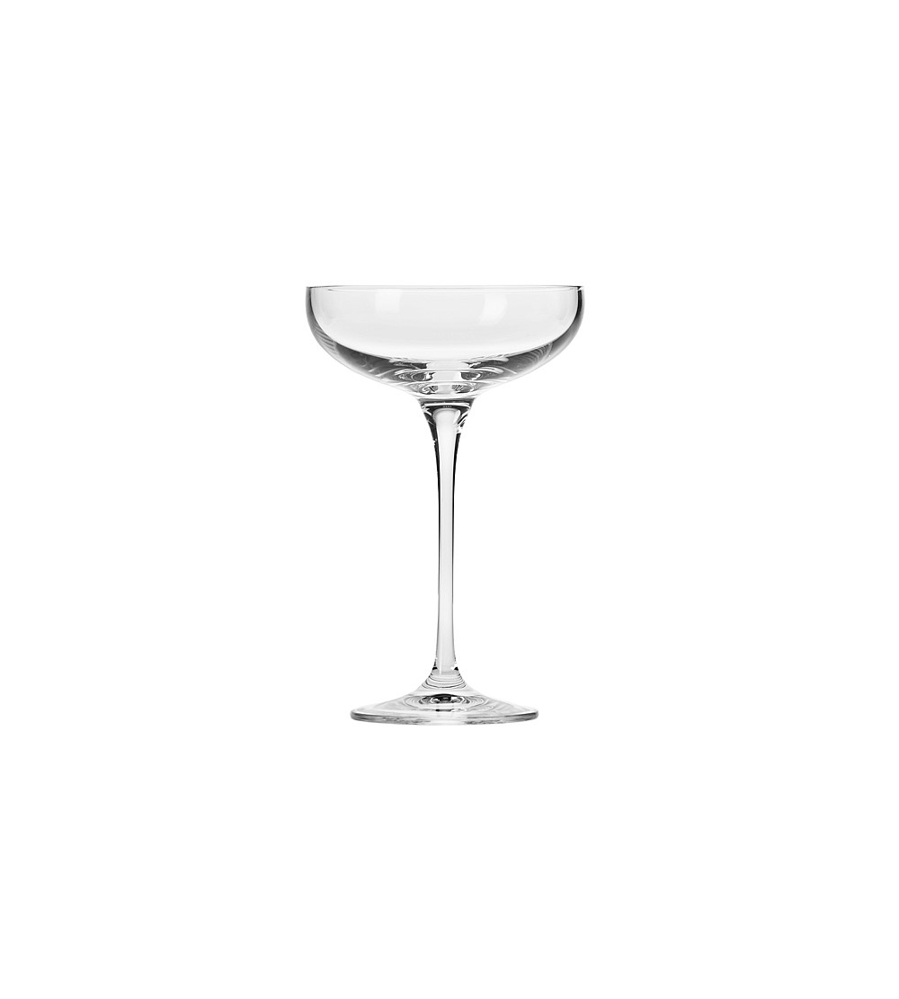 Drinkware By H J Smith Krosno Champagne Coupe Set Of 6