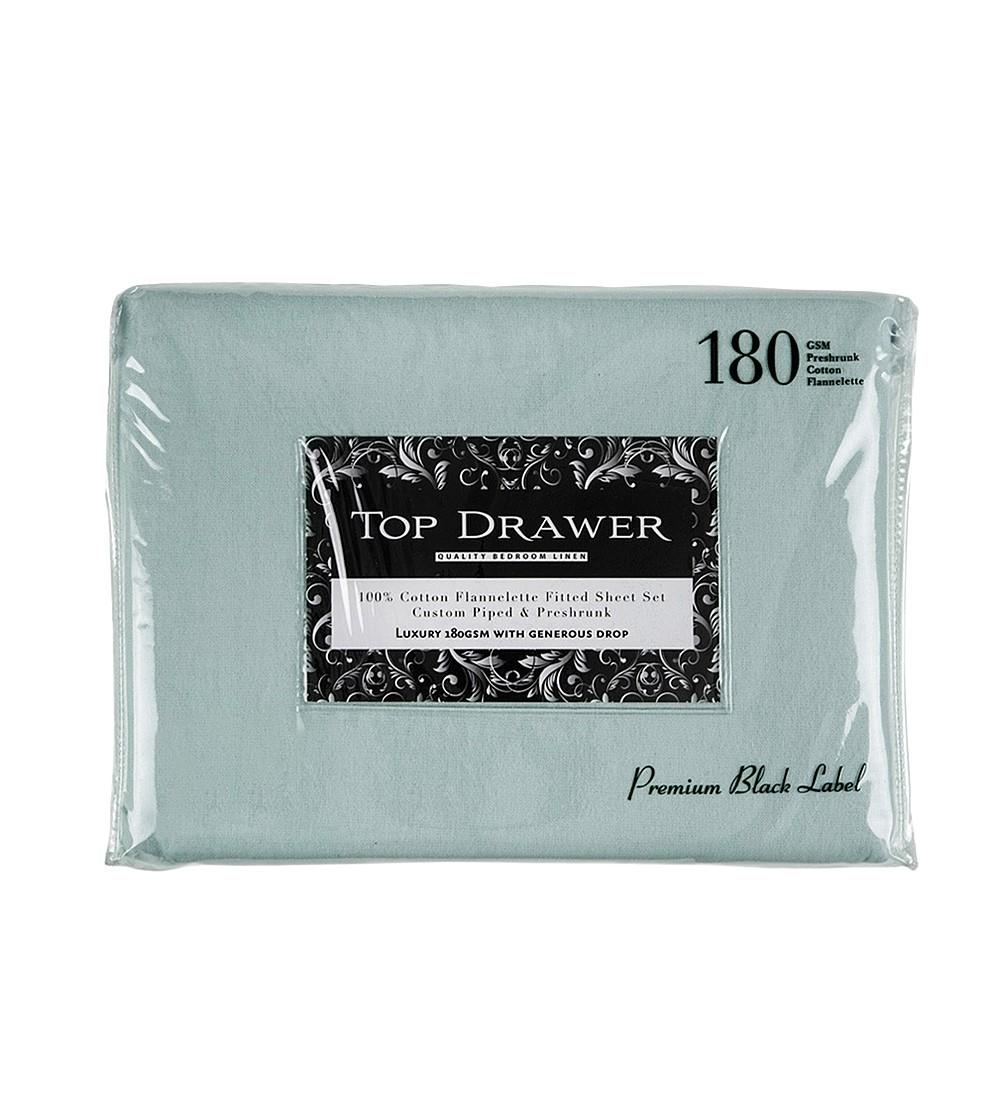 Top Drawer King Single Flannelette Sheet Sets