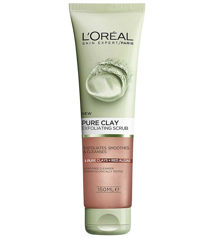 Loreal Pure Clay Exfoliating Scrub