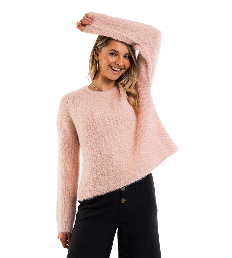 All About Eve Wrapped Up Knit Jumper