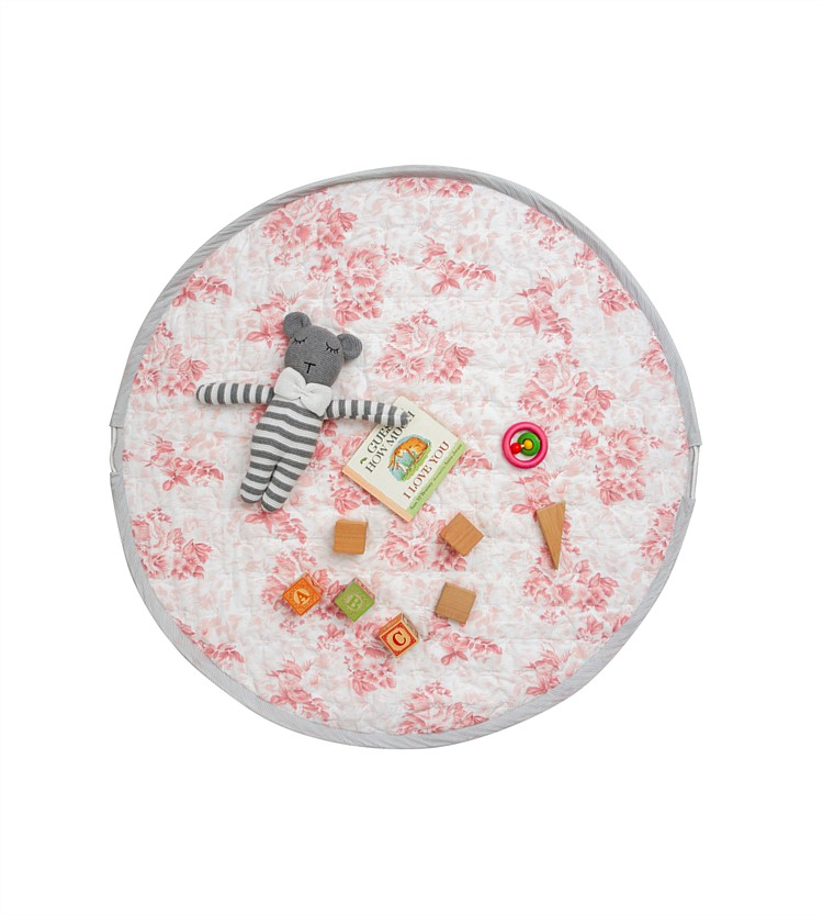 Wallace Cotton Flossie Round Play Mat