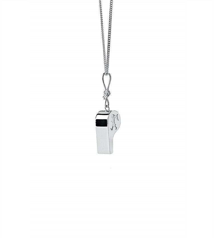 Karen Walker Navigators Whistle Necklace
