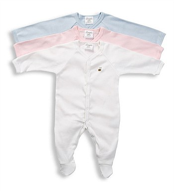 Dimples Organic Cotton Pastels Babygrow