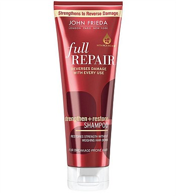 John Frieda Brilliant Brunette Full Repair Strengthen+Restore Shampoo