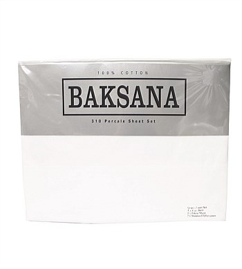 Baksana 310 Percale Sheet Set