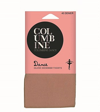 Columbine Dance Gloss Shimmer Tights