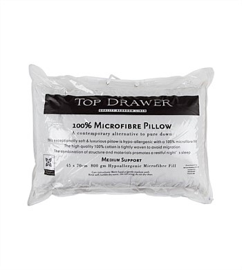 Top Drawer Microfibre Pillow