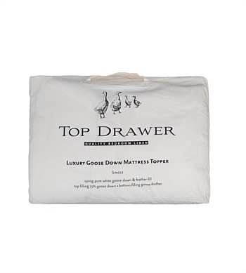 Top Drawer Goose Down Mattress Topper