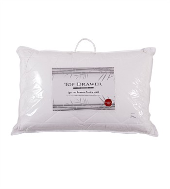 Top Drawer Quilted Bamboo Pillow