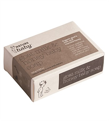 Nature Baby Organic Goats Milk & Honey Soap