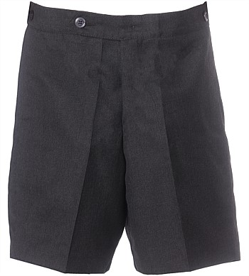 School Shorts Grey