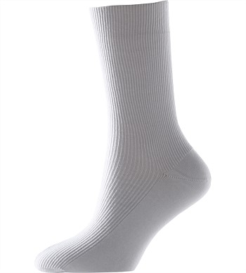 White Ankle Socks