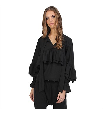 Federation Ruffled Shirt