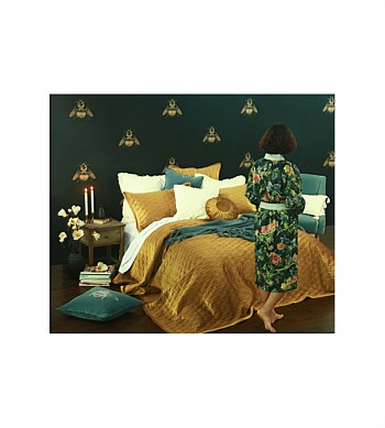 M.M Linen Aurum Bedspread Set Queen