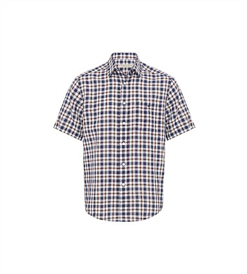 R.M. Williams Short Sleeve Hervey Shirt with Pocket
