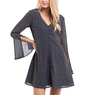 All About Eve Ella Flare Sleeve Dress