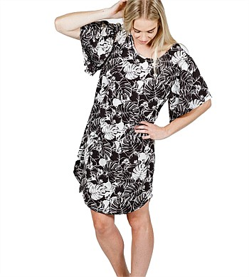Home Lee Frill Sleeve Dress