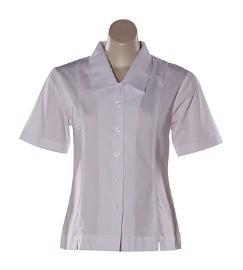 Kaikorai Valley Short Sleeve Blouse Plain