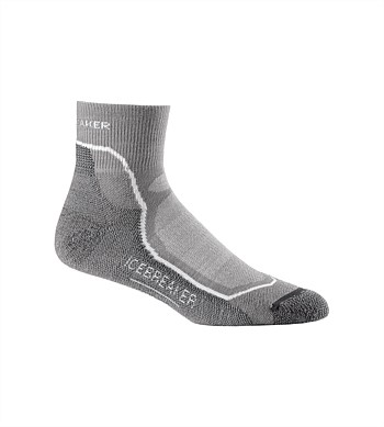 Icebreaker Mens Hike + Light Mini Sock