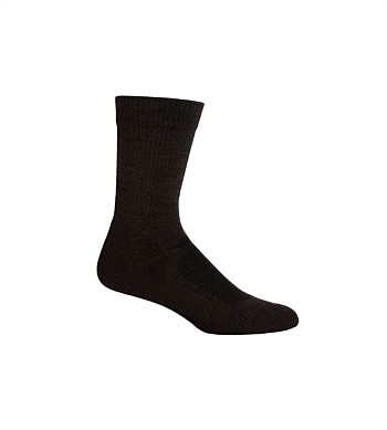Icebreaker Mens Hike + Light Crew Sock