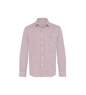 R.M. Williams Collins Small Check Shirt