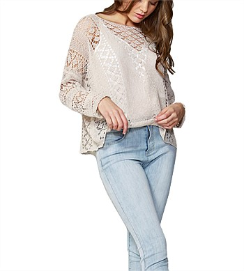 Fate Covent Garden Knit Top