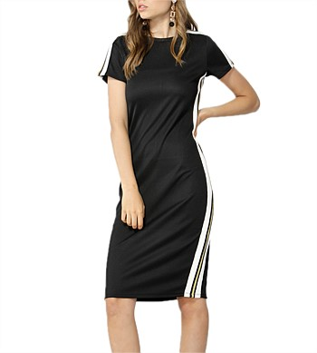Sass Chemistry Stripe Dress