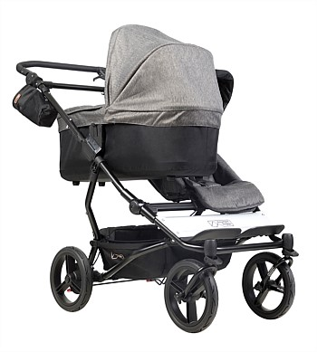 Mountain Buggy Carrycot Plus for Duet the Luxury Collection - Herringbone