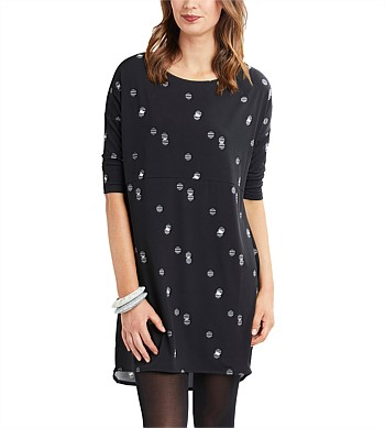 Esplanade 3/4 Sleeve Dress