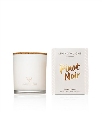 Living Light Candles Dream Soy Candle Pinot Noir