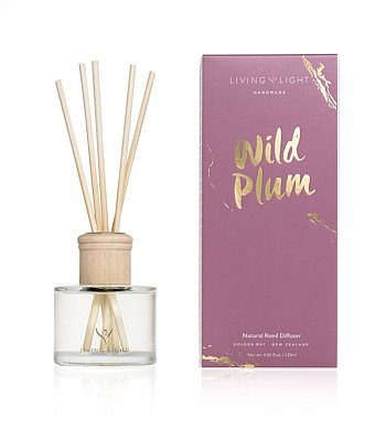 Living Light Candles Diffuser Wild Plum