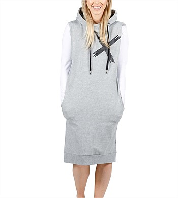 Home Lee Hooded Vest Dress