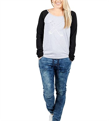 Home Lee Raglan Tee