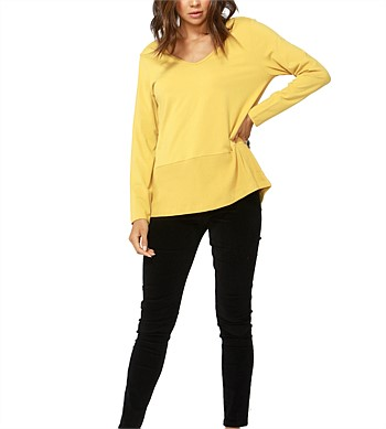 Betty Basics Kimberly Spliced Top