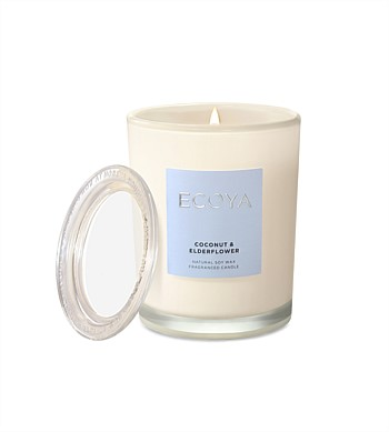 Ecoya Coconut & Elderflower Metro Jar Candle