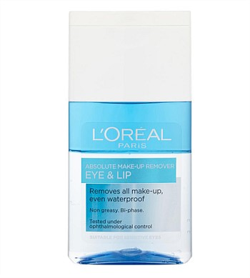 Loreal Eyes and Lips Waterproof Makeup Remover