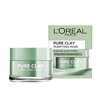 Loreal Pure Clay Purifying Mask