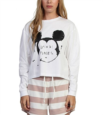 Federation Ink Mickey Goodbye Top