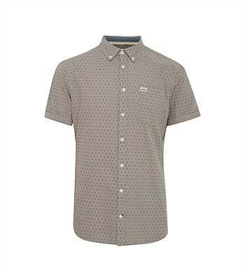 Blend Short Sleeve Printed  Shirt