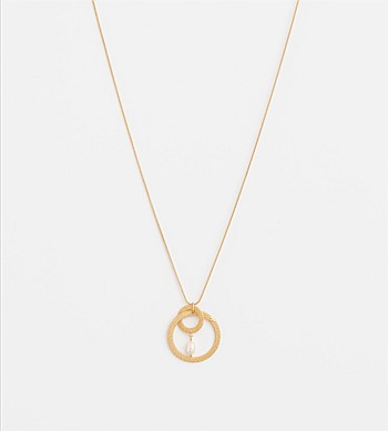 Stella + Gemma Linked Circles Necklace