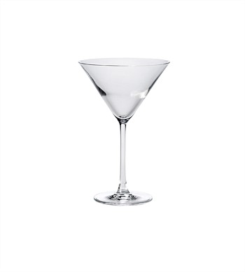 Citta Bar Table Martini Glass S/6 Clear 300ml