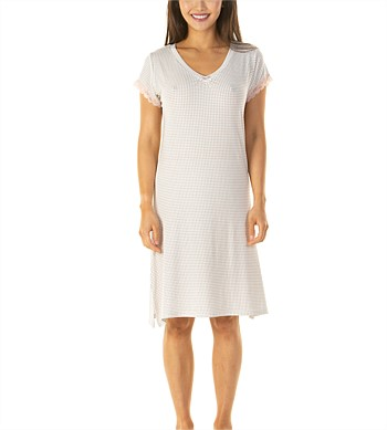 La Marquise Short Sleeve Nightie