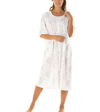 La Marquise Button Through Nightie
