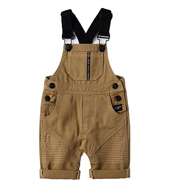 Cracked Soda Denim Overalls
