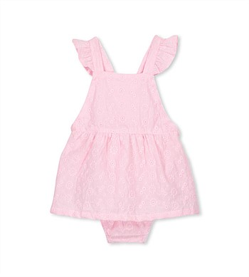 Milky Broderie Playsuit
