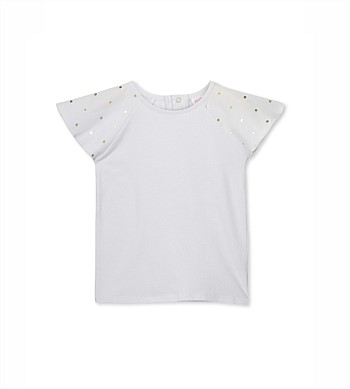 Milky Angel Wings Tee