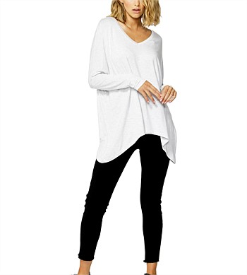 Betty Basics Geneva V-neck Top