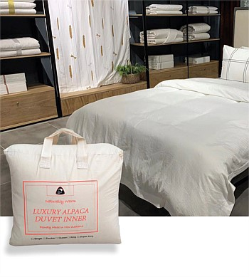 Cana Care NZ Alpaca Duvet Inner Queen