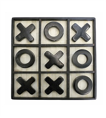 CC Interiors Bone Noughts & Crosses Set